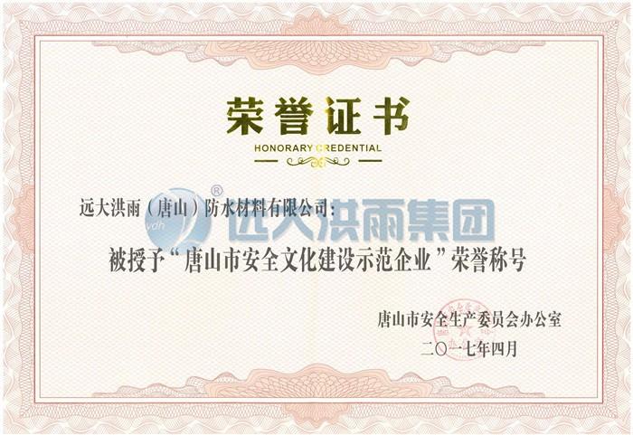 唐山市安全文化建设示范企业.jpg