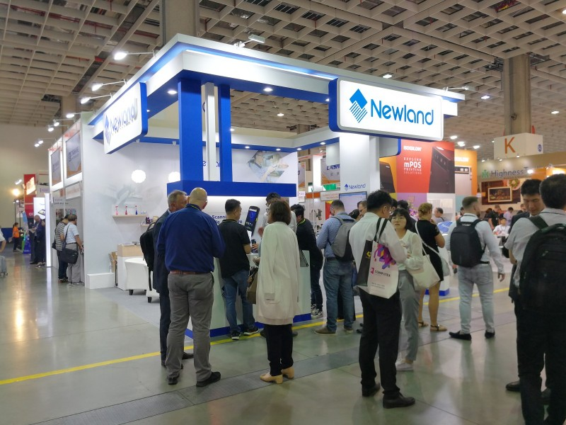 Newland yields unusually brilliant results at the Computex in Taipei