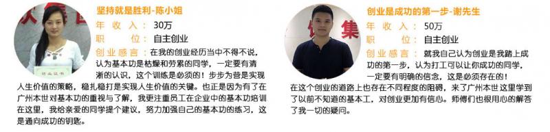 广州西点培训机构杰出学员