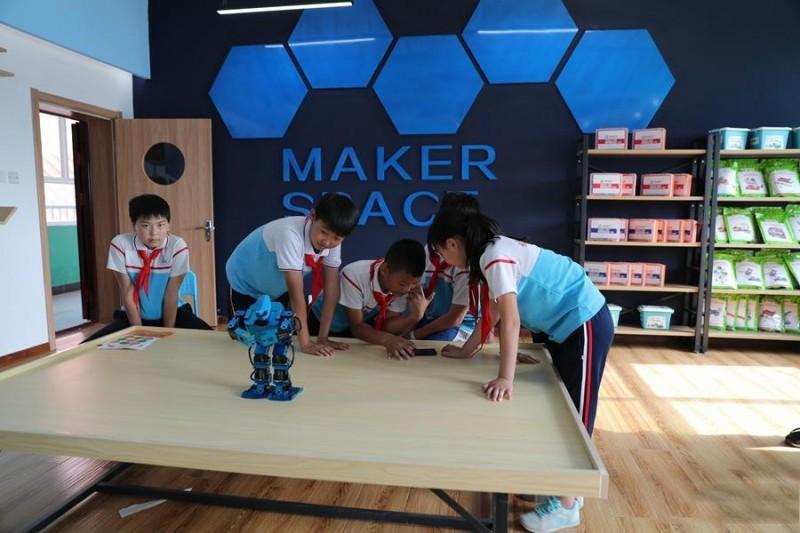 人工智能实验室落户雄安  课堂教学更加灵活有趣