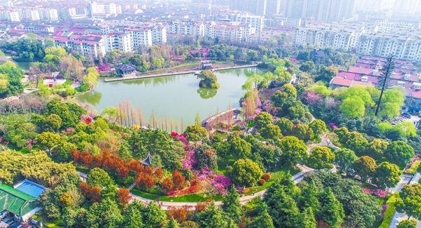 """向""""国家生态园林城市""""迈出坚实一步 常州被命名为""""江苏省生态园林城市"""