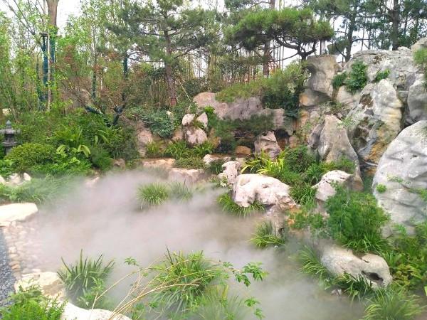 景觀造霧,園林霧森,超聲波霧化器