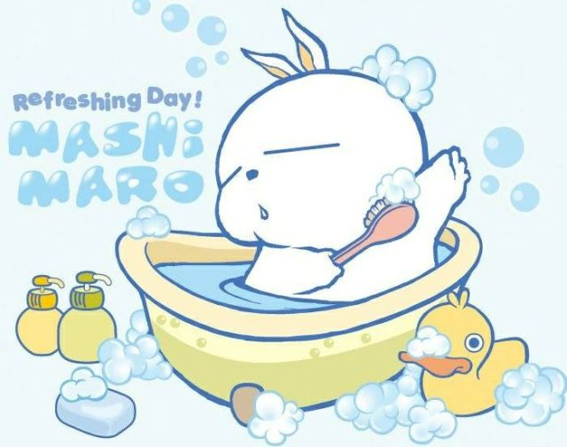 夏季温水洗澡