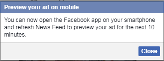 Facebook试玩广告