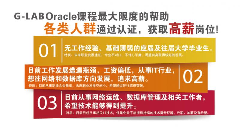 Oracle数据库认证培训班