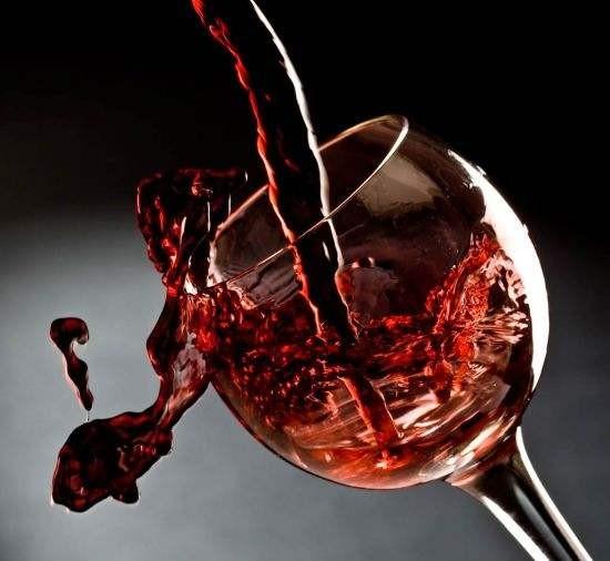红色葡萄酒
