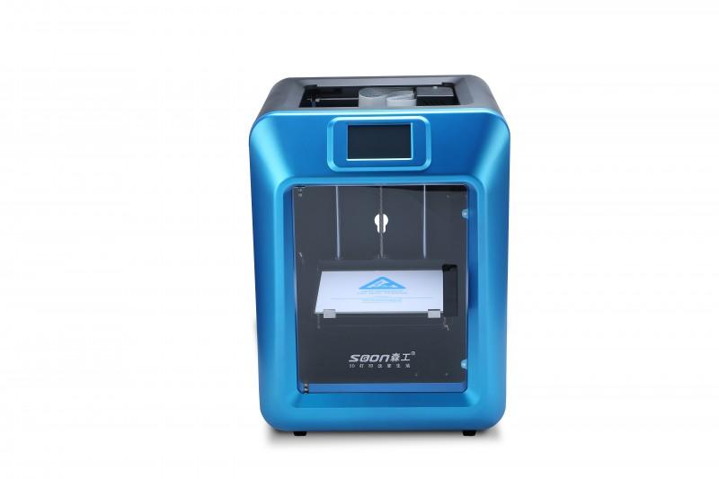 蓝鲸k5教育应用桌面级3d打印机