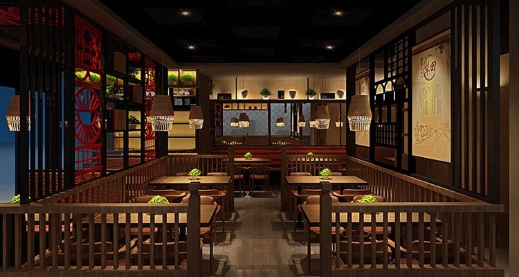 主厅餐厅设计效果图