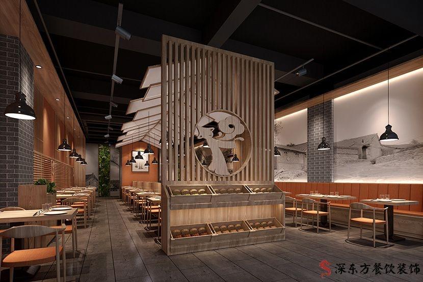 餐厅设计内部效果图