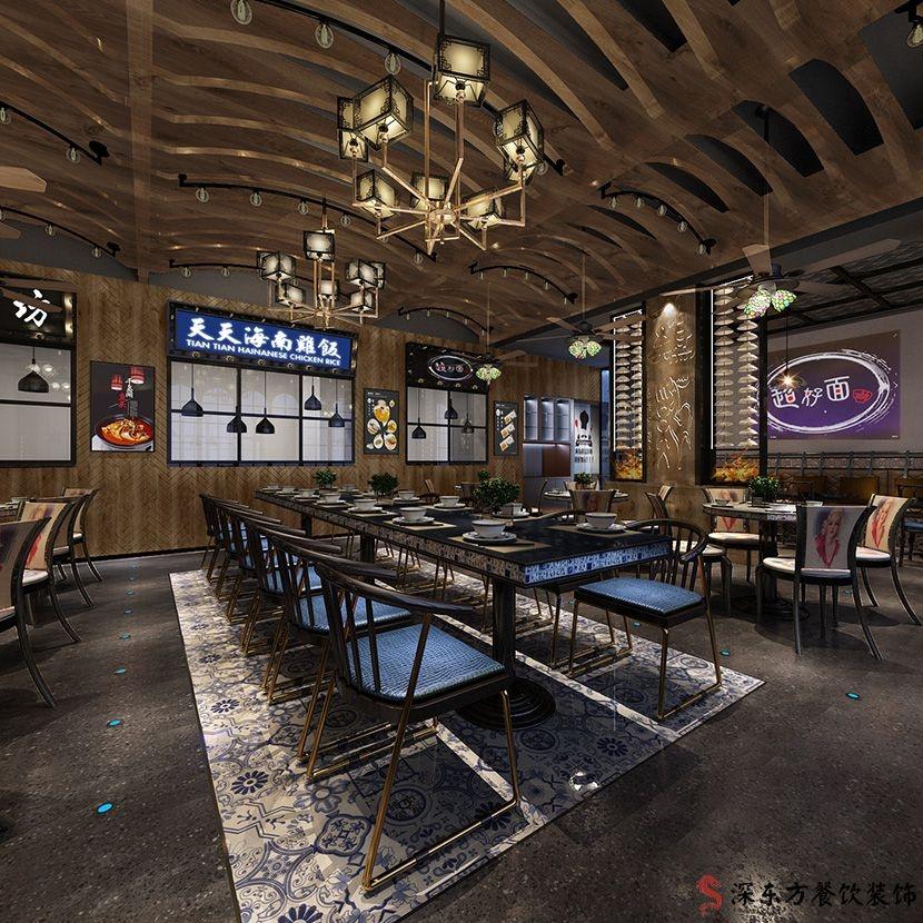 天天海南鸡饭品牌餐厅设计