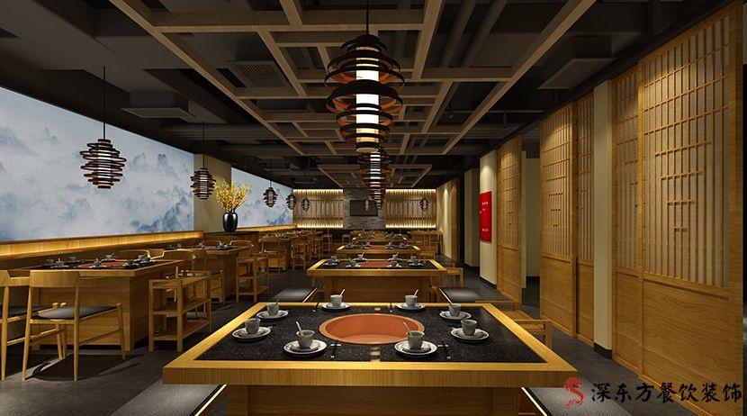 大龙炎餐桌餐厅设计