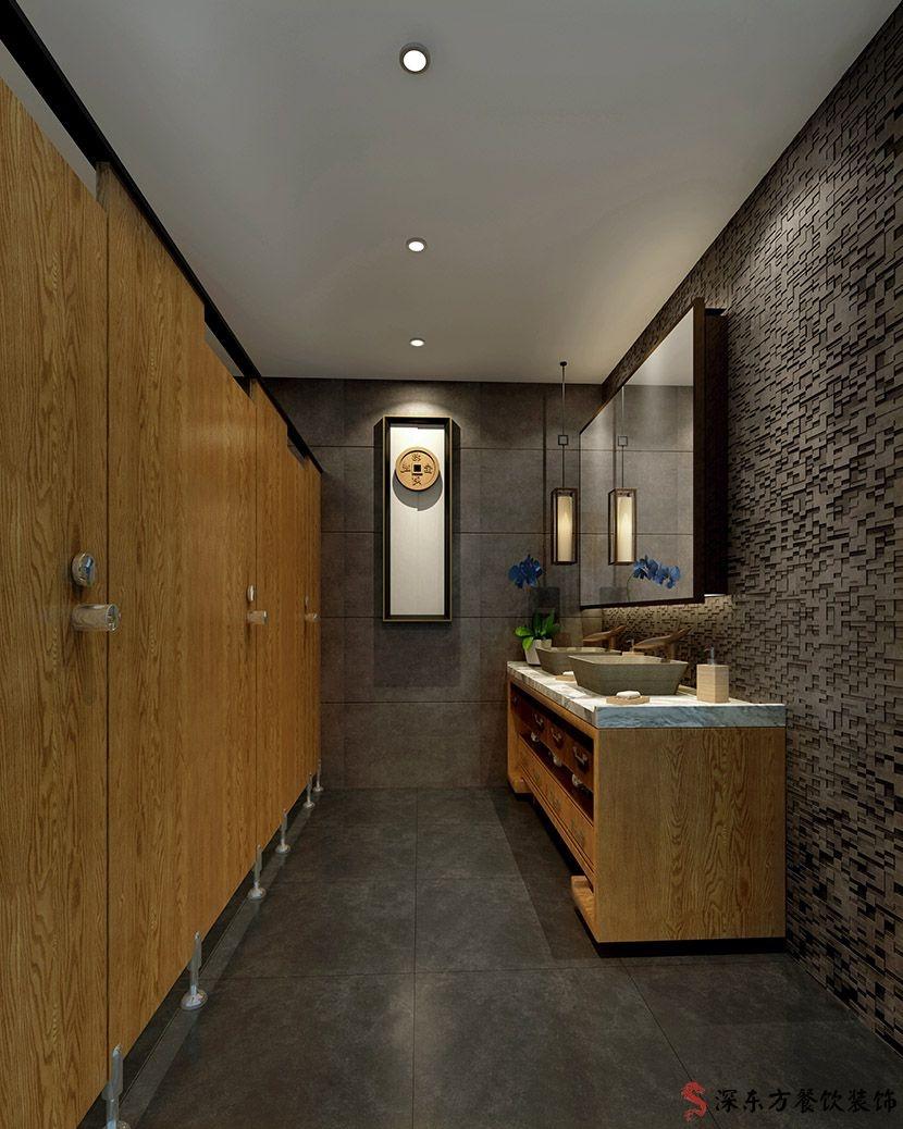 快餐厕所餐厅设计装修效果图