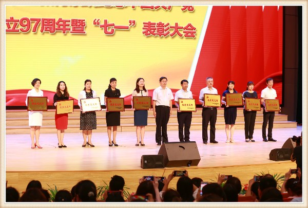 喜讯:金水区文化路第一小学党支部荣获多项荣誉