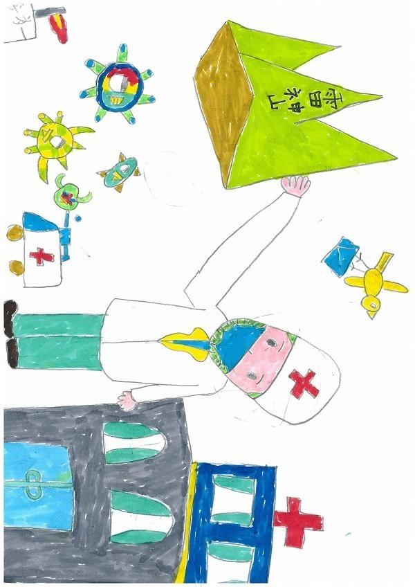 成都分公司  李斌  子女:李为一  男 7岁《我心中的抗疫英雄》.jpg