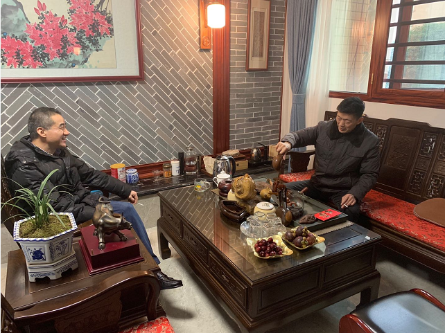 中国人寿衡阳分公司春节走访慰问老党员及困难党员