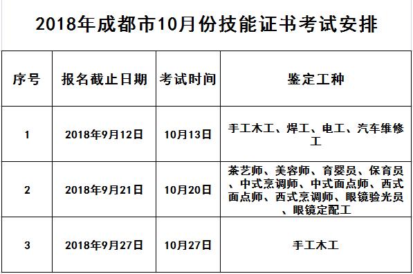 10月份证书考试时间安排.png