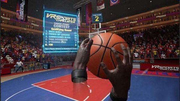 见识下NBA球星如用VR进行赛前训练