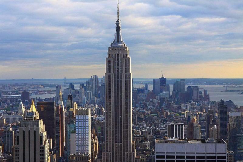 美国纽约帝国大厦