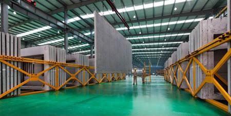 装配式建筑材料生产车间