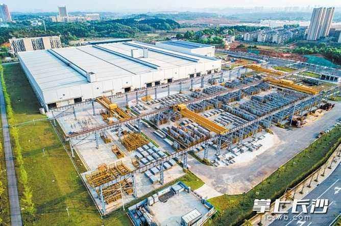 以中民筑友为核心的金霞经开区装配式建筑产业示范园
