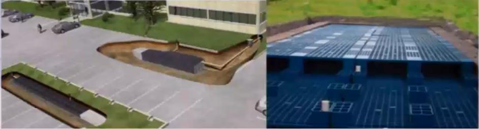 地理式蓄水装置(混凝土蓄水池、蓄水方块)