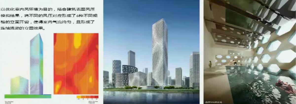 我国比较早的绿色建筑参数化设计:中钢国际大厦,MAD