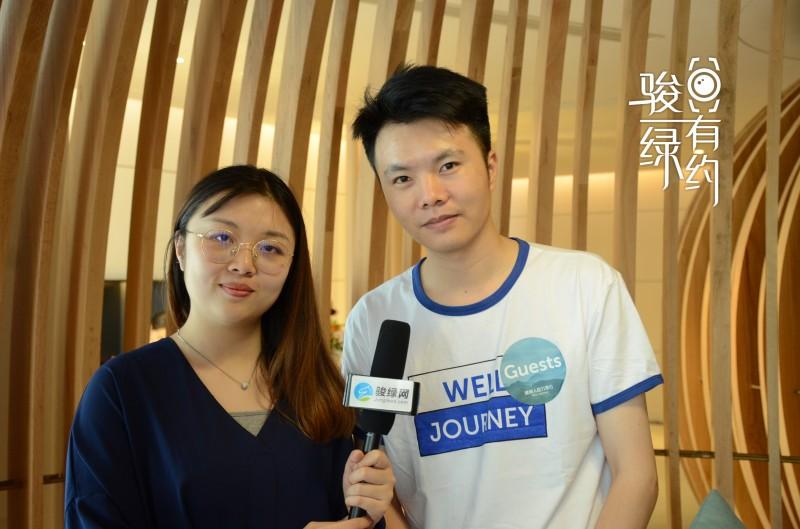 上海朴道水汇环保科技股份有限公司销售总监 李聪聪