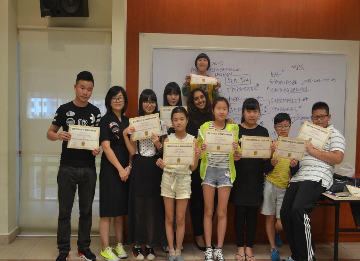 天津新加坡游学冬令营双语素质教育
