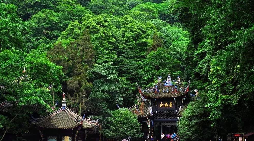 功夫熊猫取景地青城山