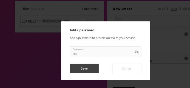 Smash 无容量限制、无广告、无需注册的免费文档分享、传档