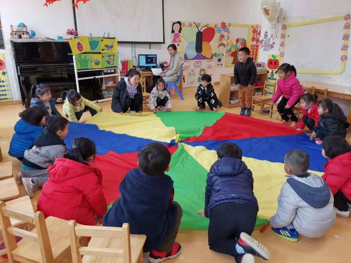 爱尼尔幼儿园 — — 新教师亮相课活动