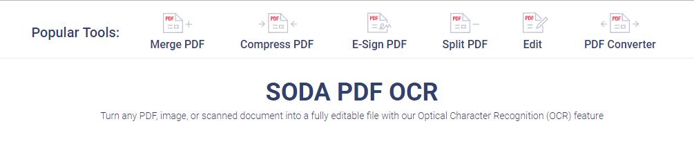 PDF、图片转OCR文字识别合集【网站+PC软件+手机APP+小程序】