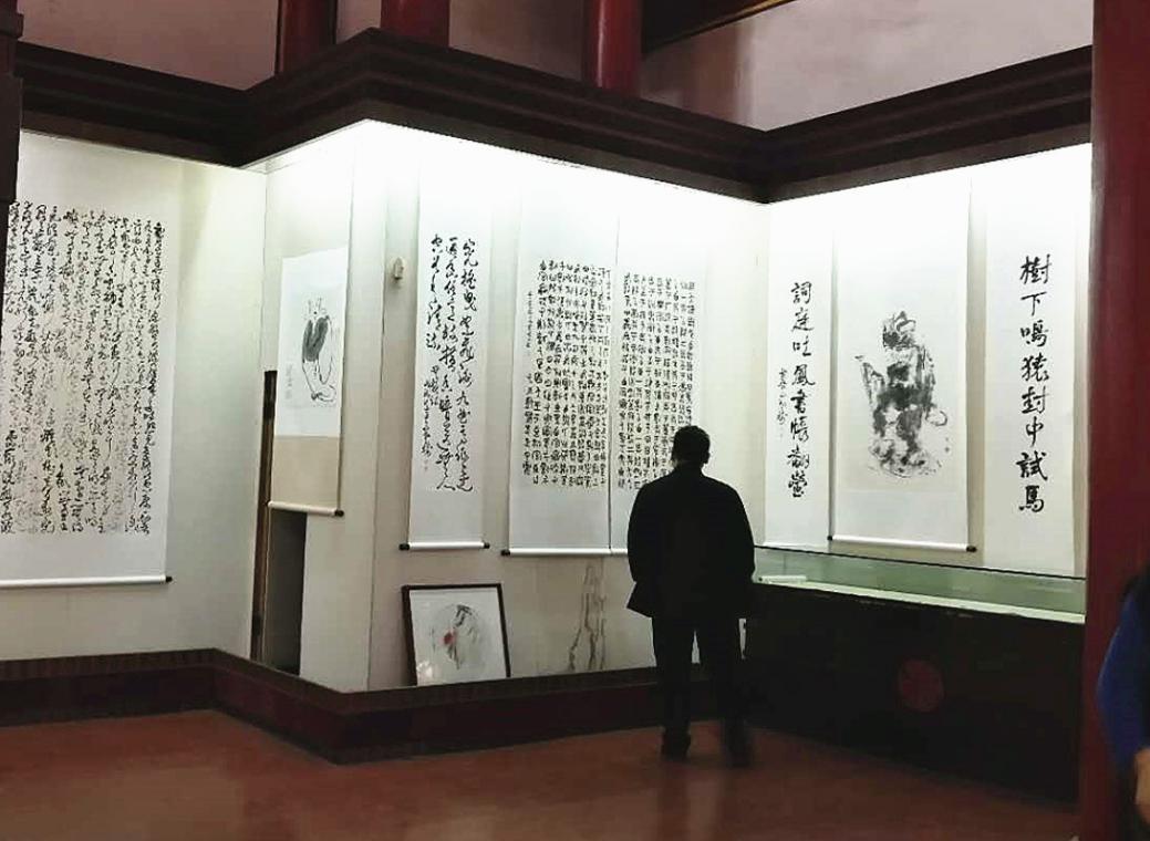 辞旧迎新,书写朝气  ——在江寺民俗文化园欢度元旦小长