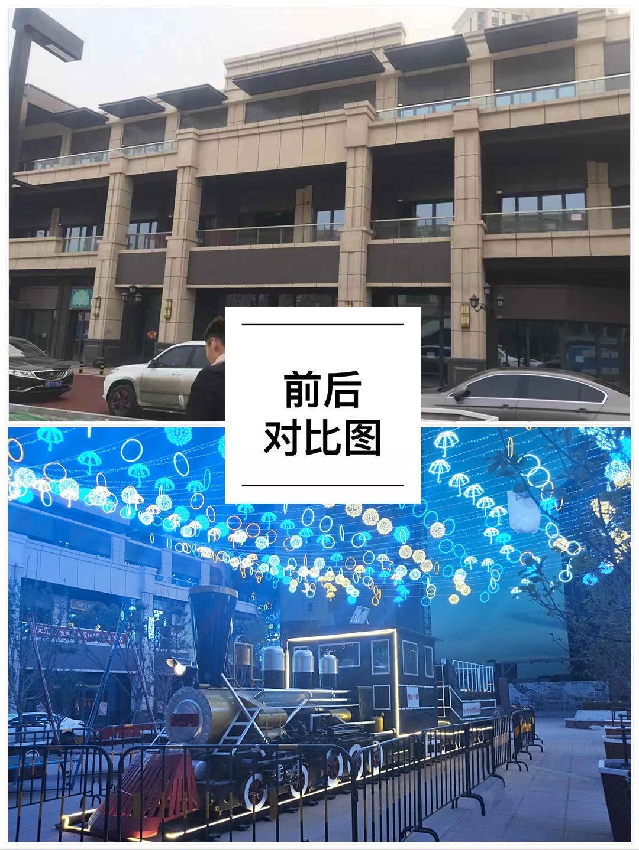 滨海万达美陈-传承百年商脉,启幕滨海繁华!