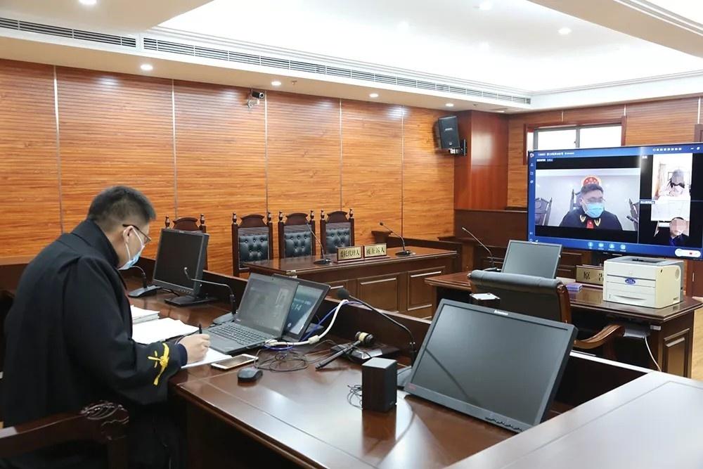 """首次实现网上开庭!宿迁法院司法为民""""不打烊"""""""