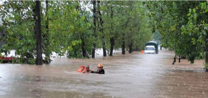 关于近期洪水导致物流浸水现象温馨提示