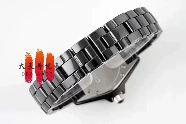 【大表哥说表】XF香奈儿J12复刻表全陶瓷进口机芯?和原版一样的机芯