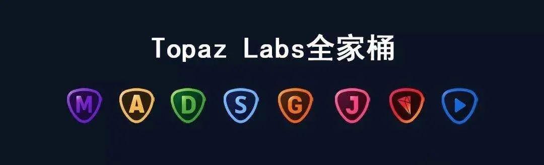 【L25】Topaz Labs AI软件合集