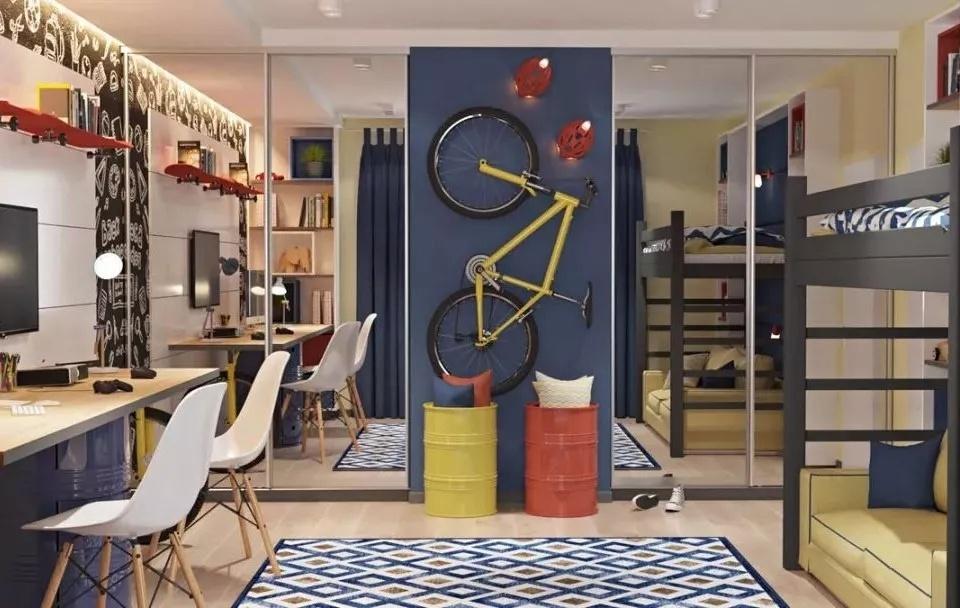 抚顺装修公司麻雀装饰分享儿童房设计经验,看完都想生二胎了!