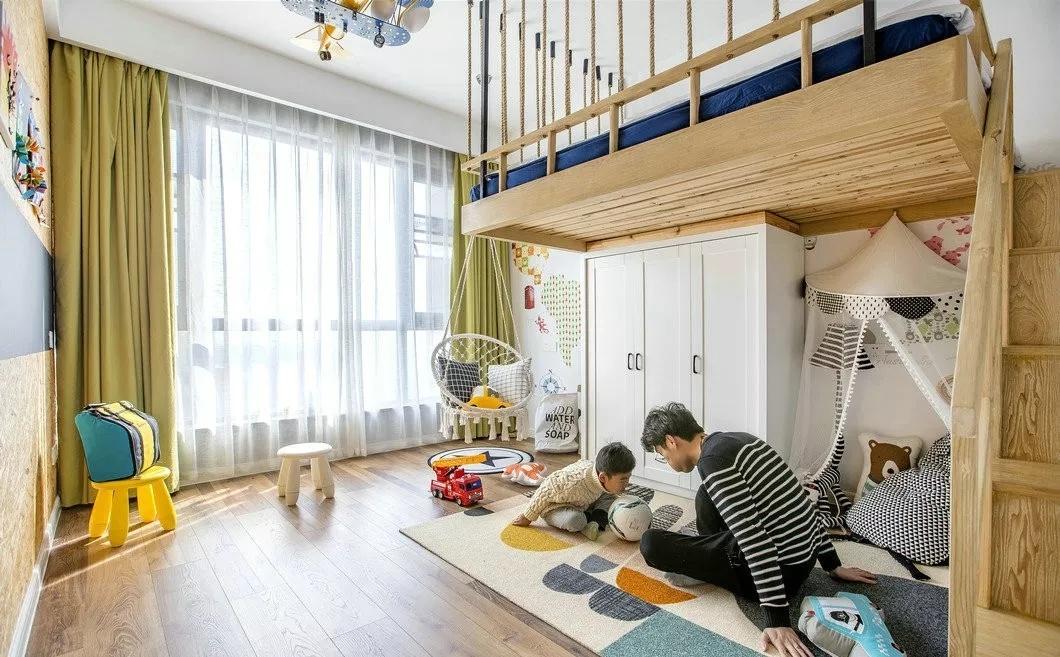 抚顺排列五走势图预测公司麻雀装饰分享儿童房设计经验,看完都想生二胎了!