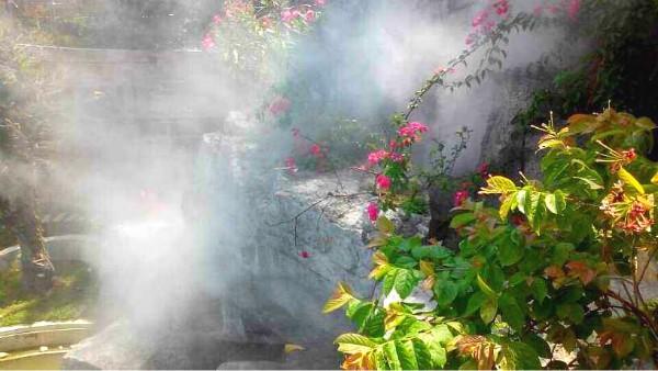 景观造雾,园林雾森,超声波雾化器
