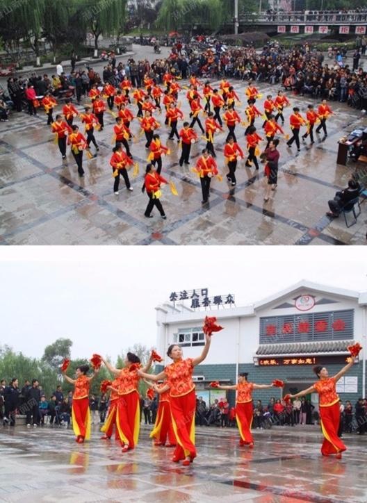 2012年10月22日,東關社區舉辦的廣場演出。攝影:汪小平.jpg